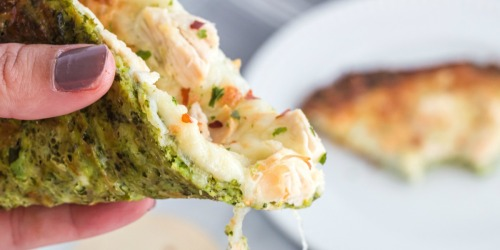 Keto Broccoli Pizza Crust Recipe | Nut-Free & Gluten-Free
