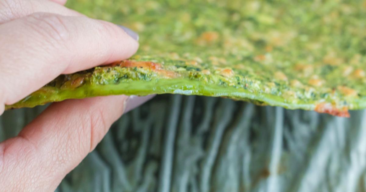 keto broccoli pizza crust