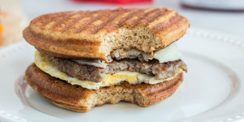 The Best Keto McGriddle Breakfast Sandwich Copycat Recipe