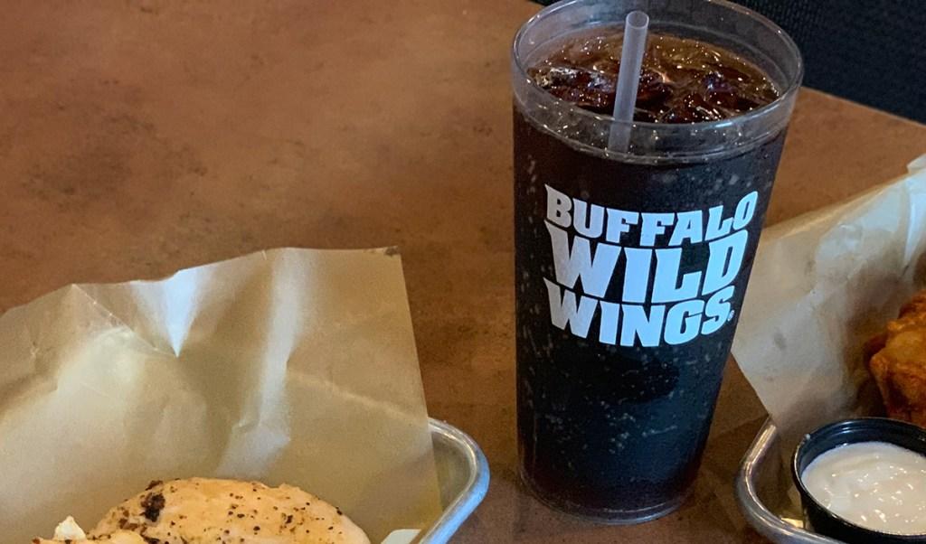 Diet Pepsi at Buffalo Wild Wings