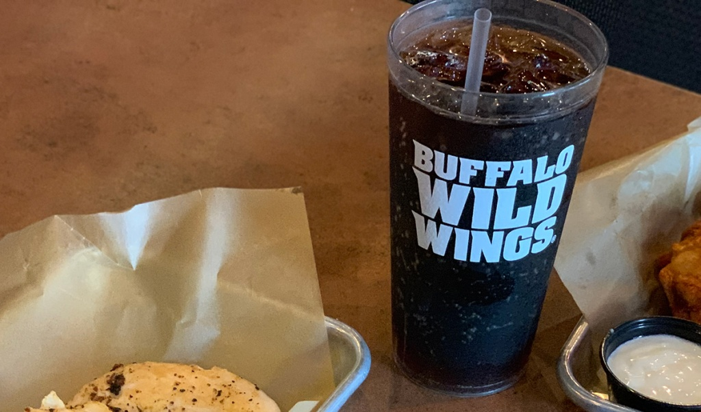 Diet Pepsi at Buffalo Wild Wings