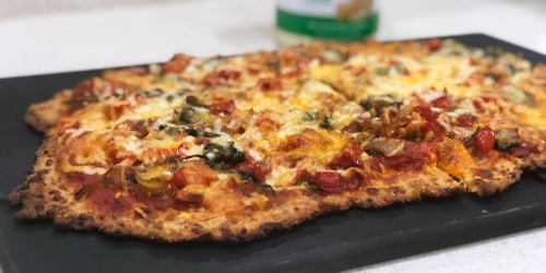 The Main Ingredient in this Keto Pizza Crust is Italian Sausage