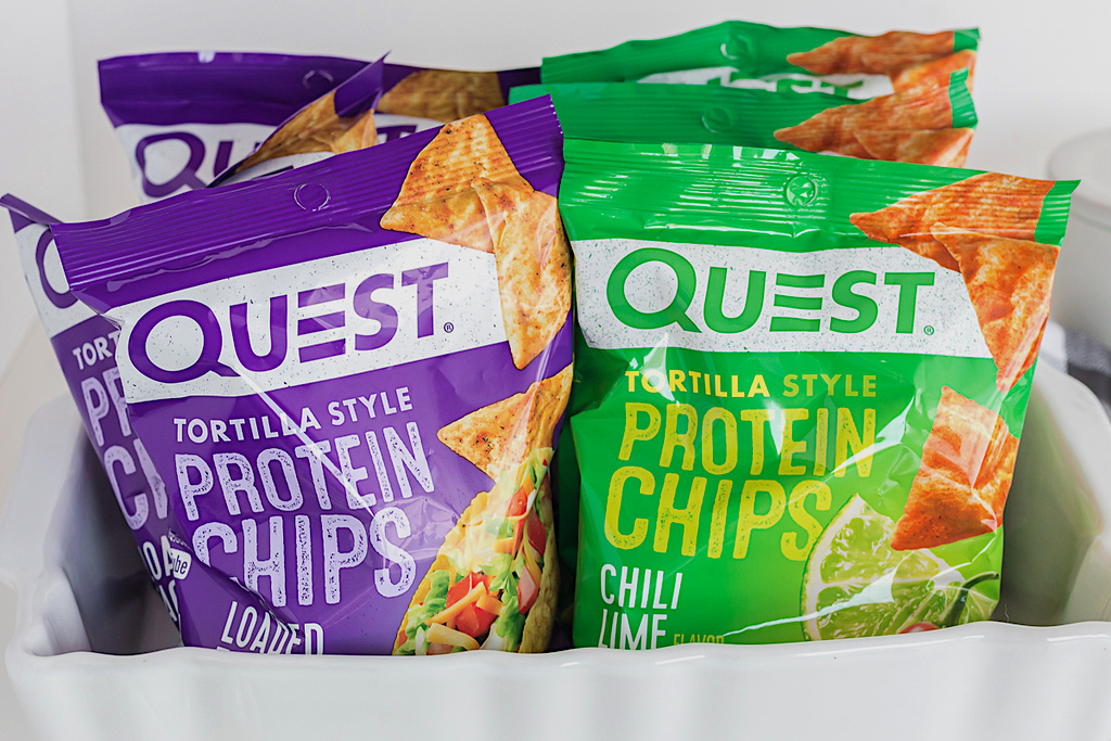 Quest tortilla style protein chips