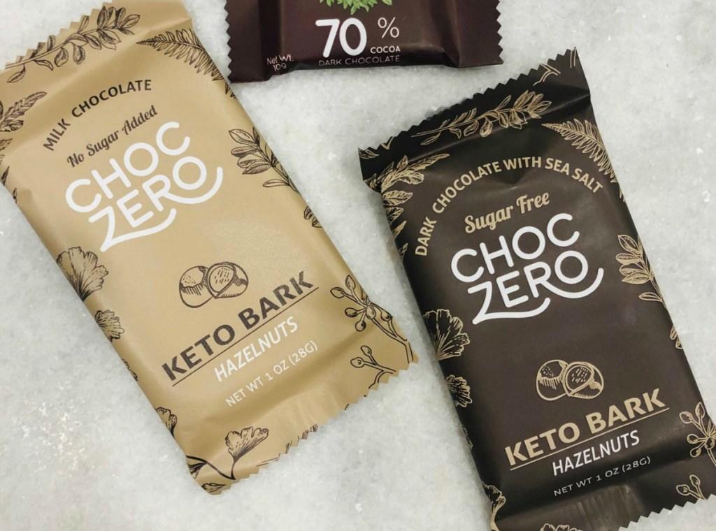 ChocZero Sugar Free Keto Chocolate Bark
