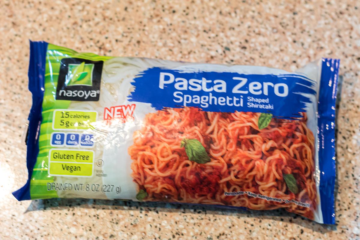 pasta zero bag of shirataki noodles