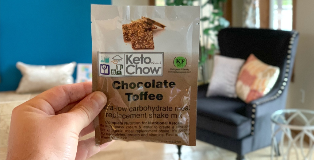 Keto Chow Chocolate Toffee