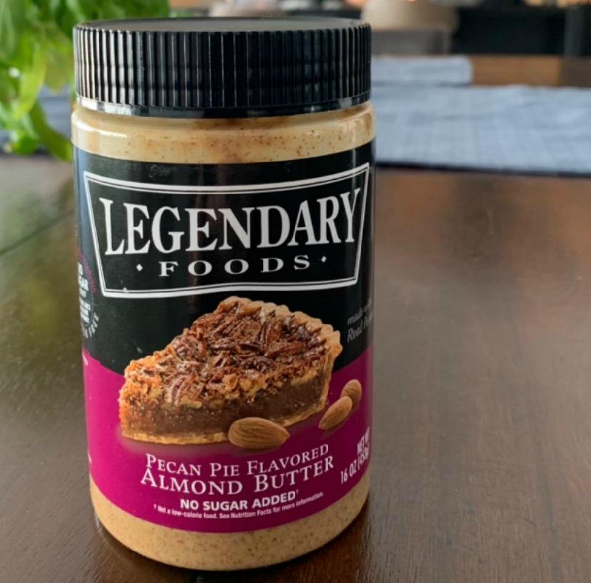 Legendary Foods Pecan Pie Flavored Almond Butter