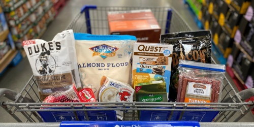 OVER 80 Keto Foods Available at Sam's Club (+ Printable Shopping List)