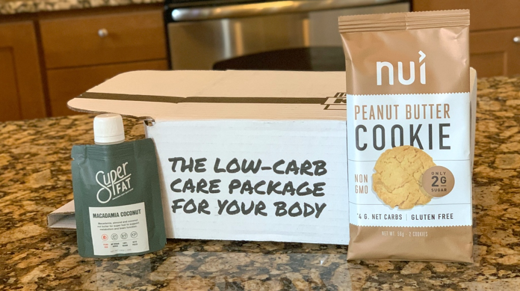 The Keto Box samples