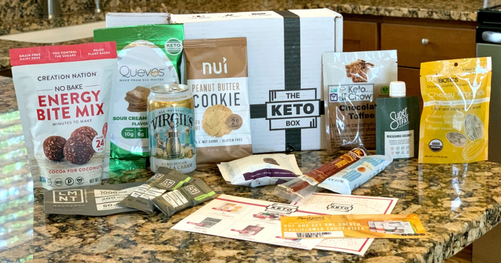 The Keto Box subscription