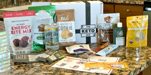 Try Keto Snacks & Treats from The Keto Box + Free Shipping