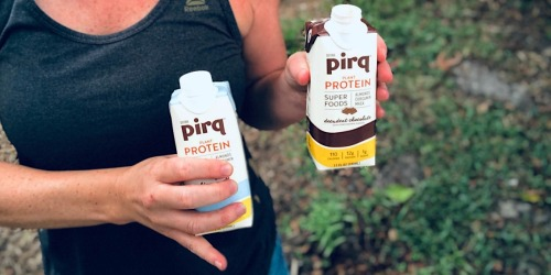 Perk Up with Pirq Protein Keto-Friendly Drinks (+ Exclusive Promo Code!)