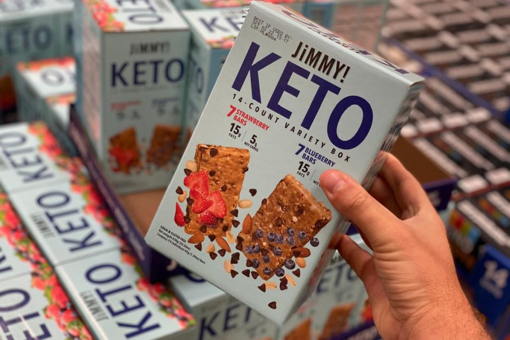 Sam's Club keto protein bars
