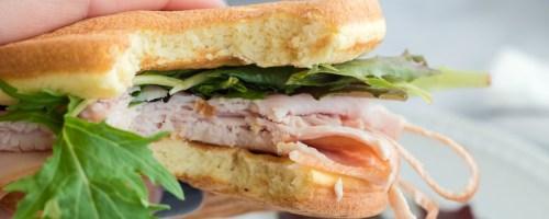 keto chaffle sandwich