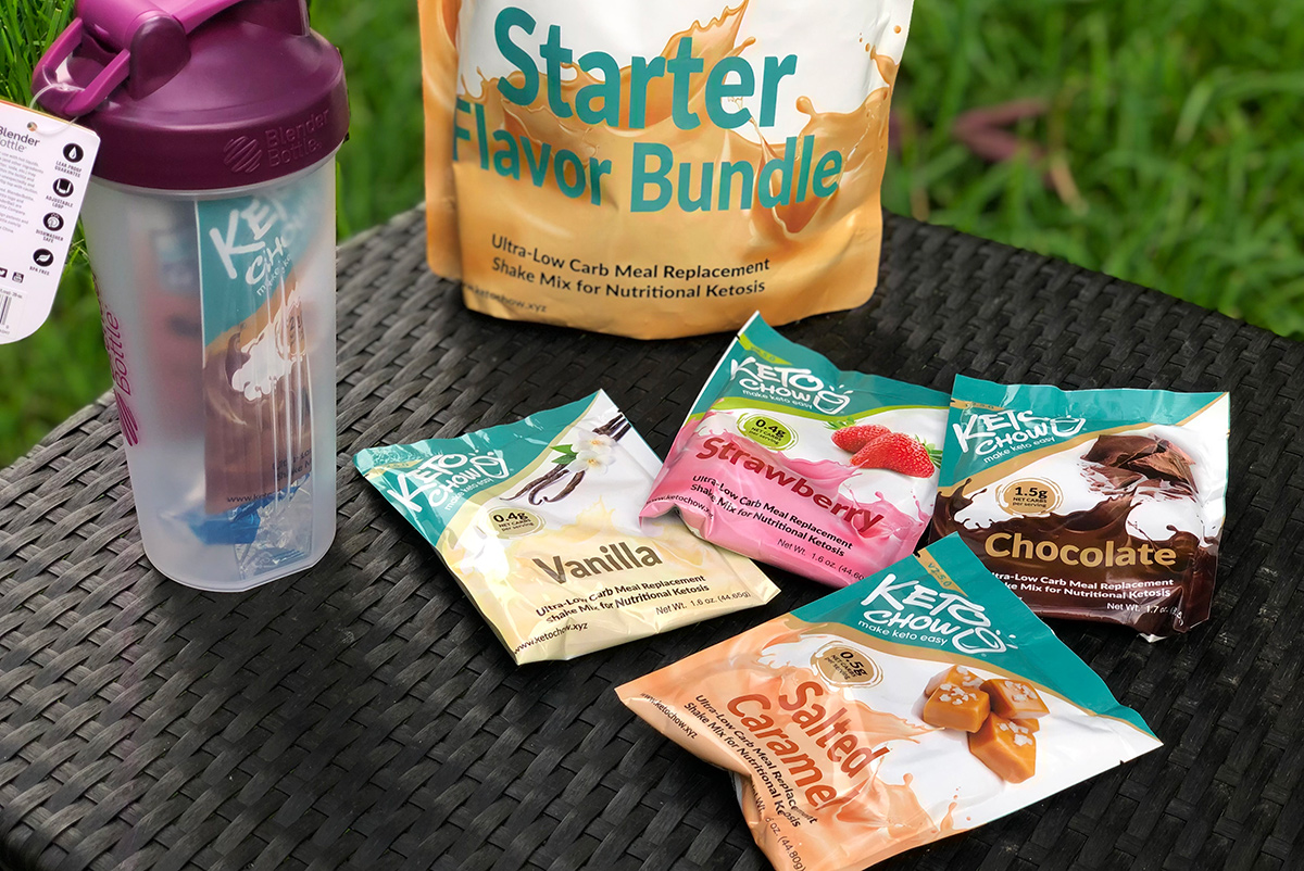 Keto Chow Starter Flavor Bundle
