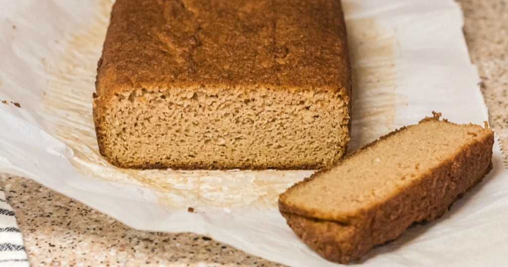 keto fall bread sliced