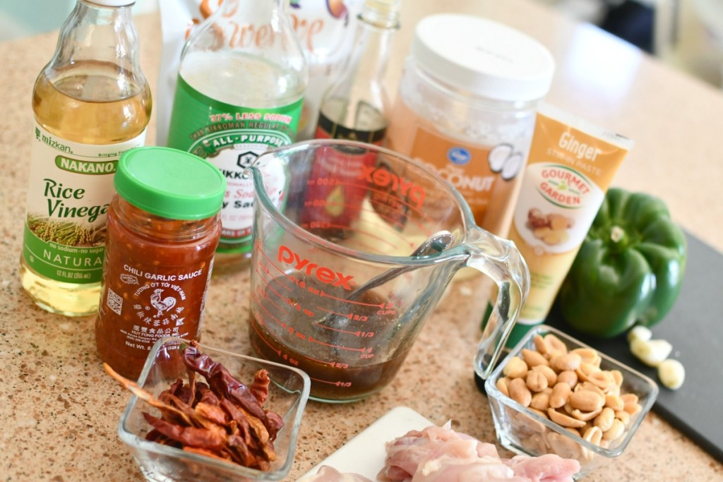 keto kung pao chicken ingredients
