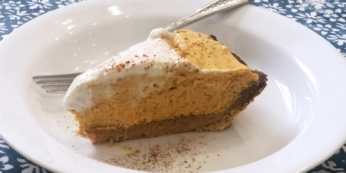 We're Giving Thanks to This Keto Pumpkin Cream Pie