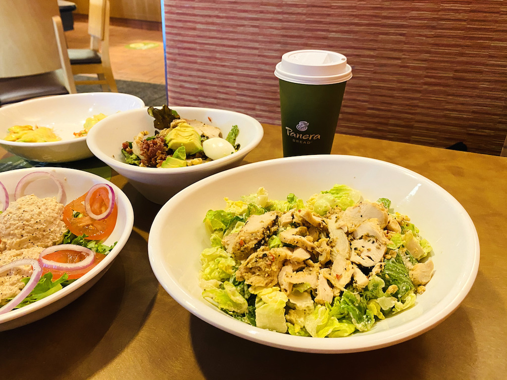 keto Panera salads