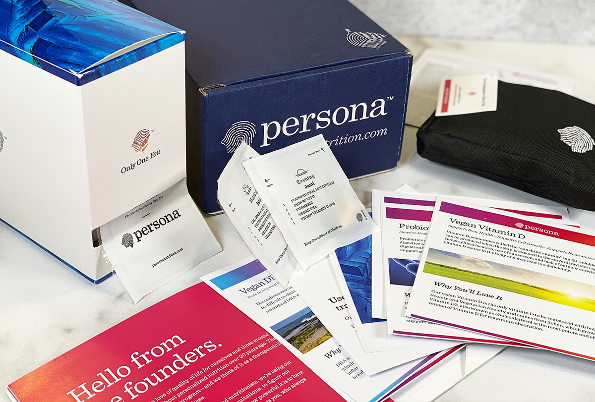 Persona Nutrition 28-day shipment