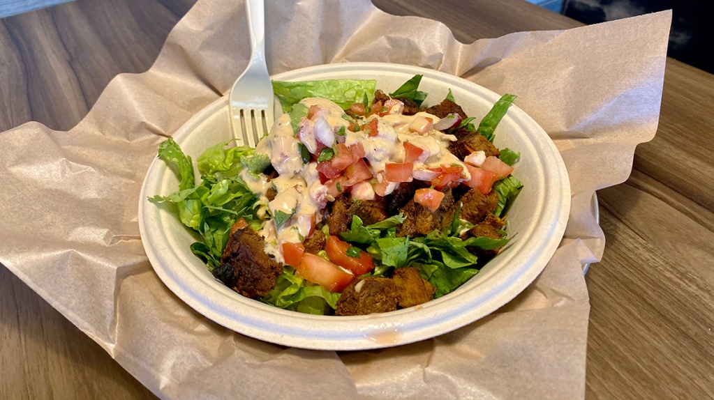 Qdoba create your own salad
