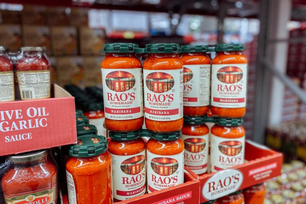 Rao's pasta sauce