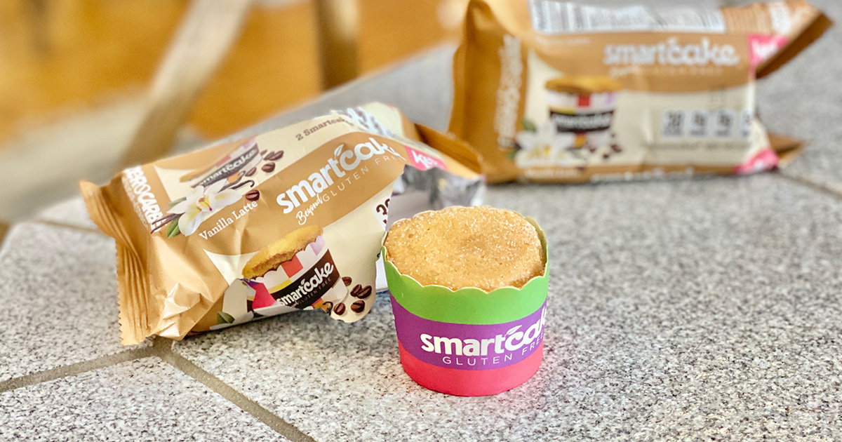 Vanilla Latte SmartCake keto-friendly dessert