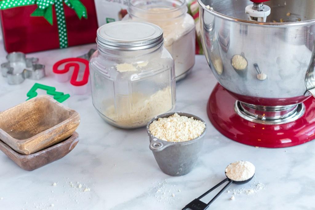 ingredients for sugar cookies