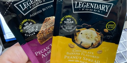 Legendary Foods Keto Sampler 6-Pack Only $3.95 Shipped