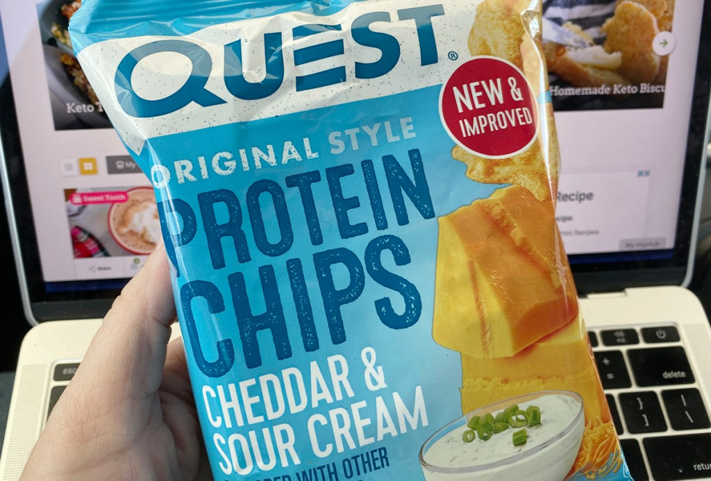 Quest Protein Chips Cheddar Sour Cream