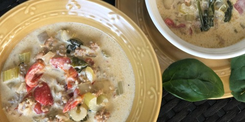 This Creamy Keto Tuscan Soup Comes Together in Under 30 Minutes