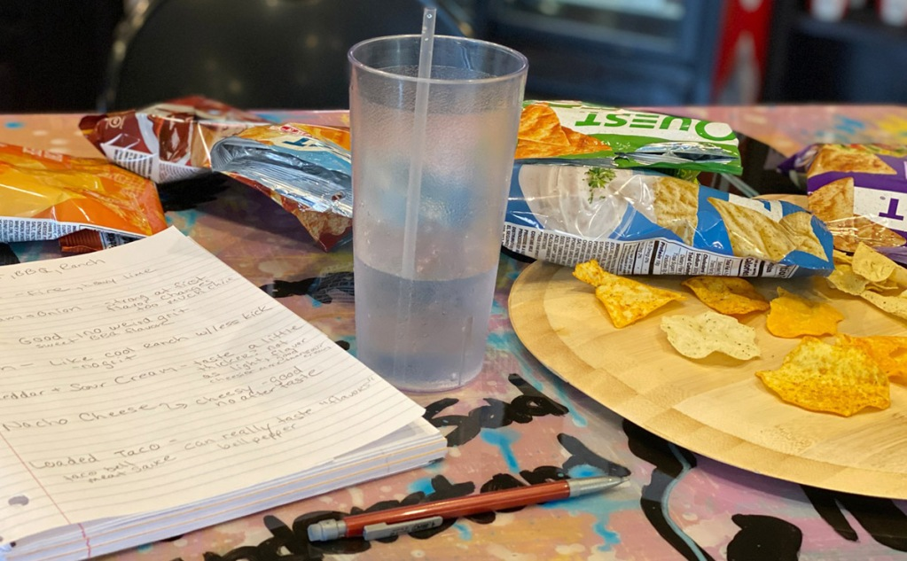 quest chips taste test