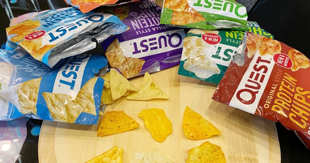 quest protein chips taste test
