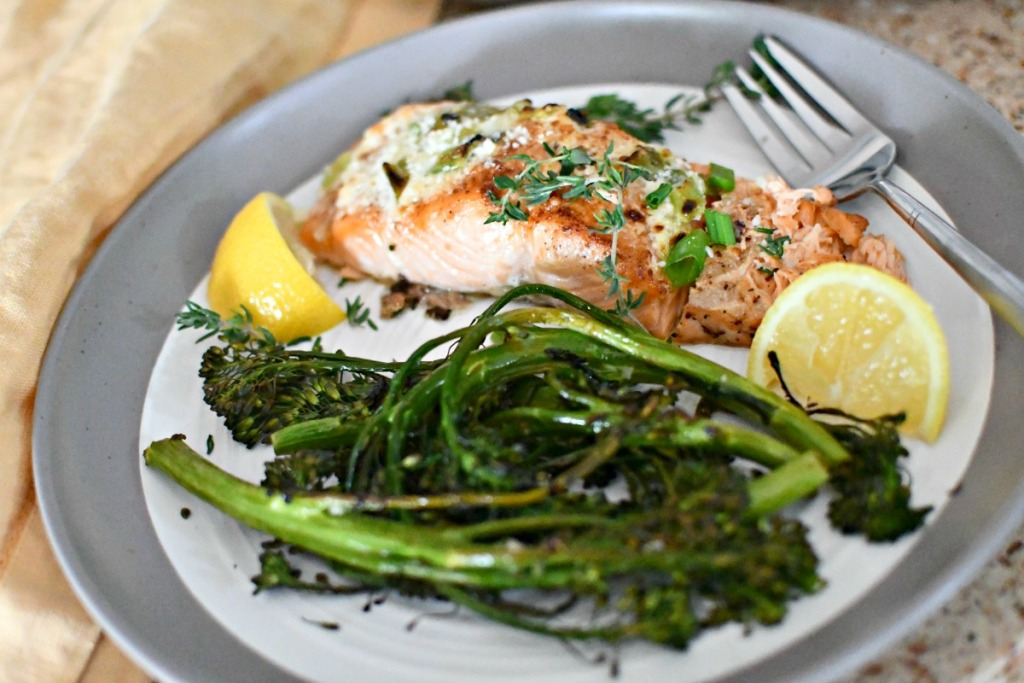 salmon eMeals dinner