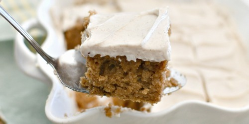 Best Ever Keto Spice Cake with Cream Cheese Frosting