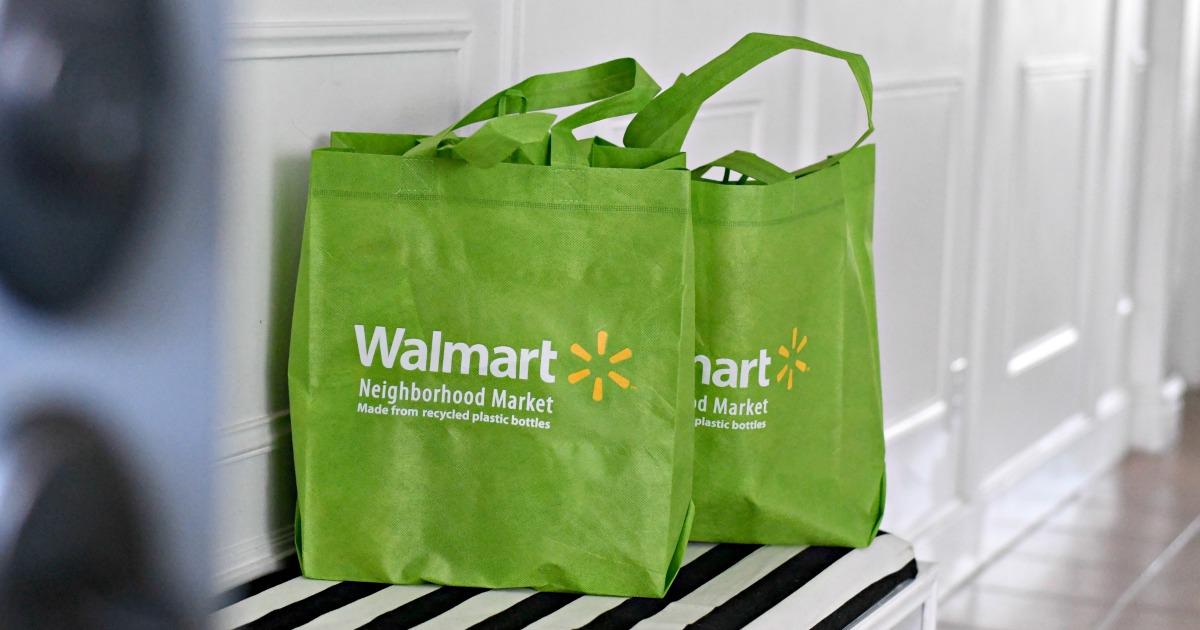 walmart grocery bags