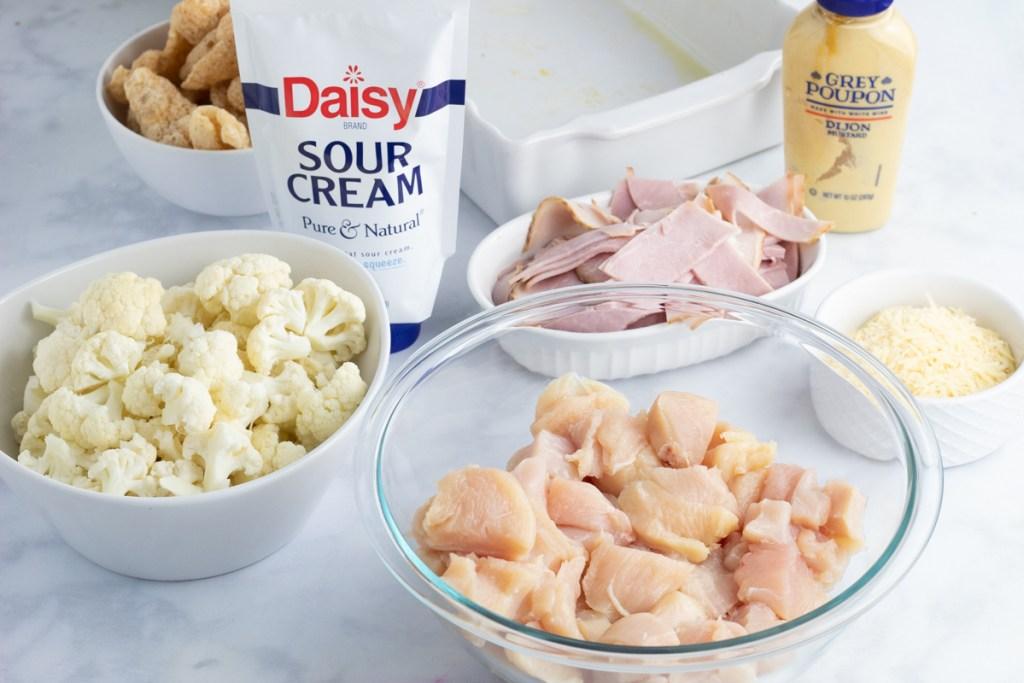 ingredients for chicken cordon bleu