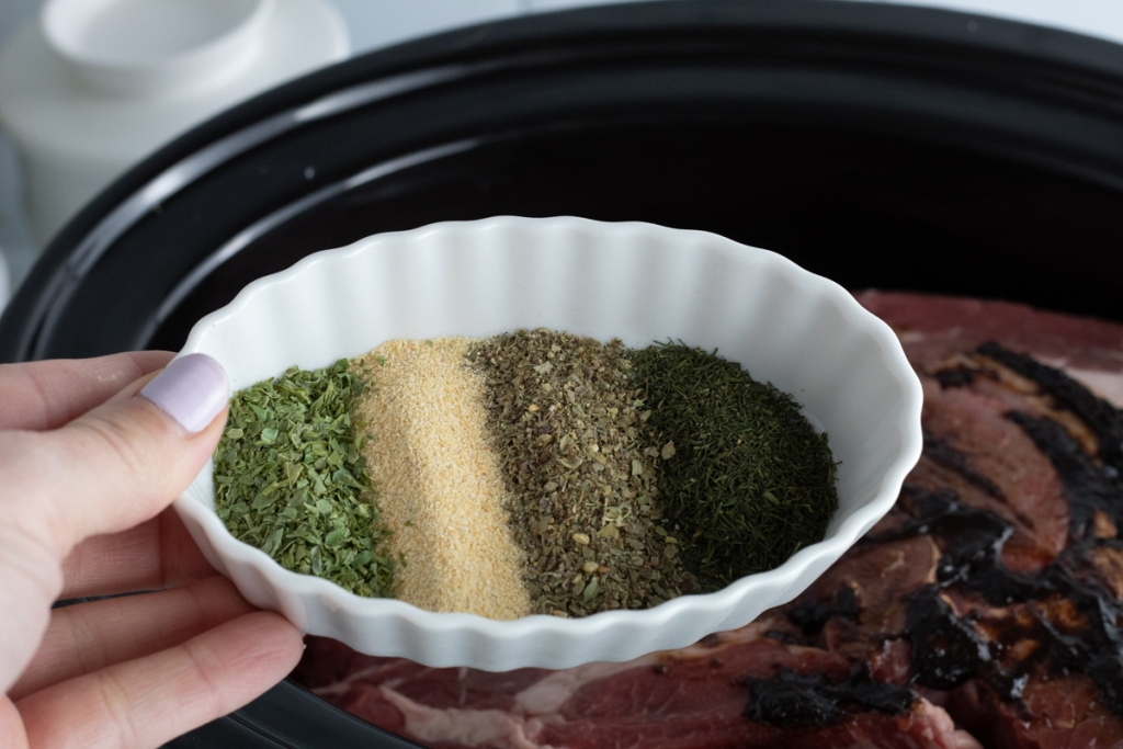 spices for roast in crockpot