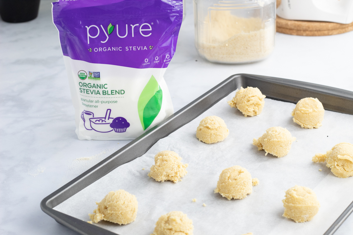 Pyure sugar cookies