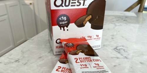 Get Over $50 Off Quest Protein Cookies, Peanut Butter Cups, Chips, & More w/ This Stock Up Promo!