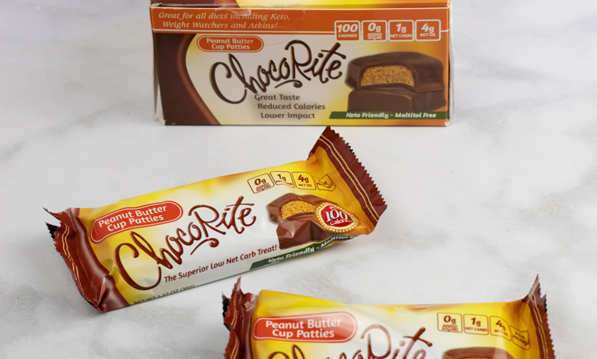 ChocoRite keto candy cups