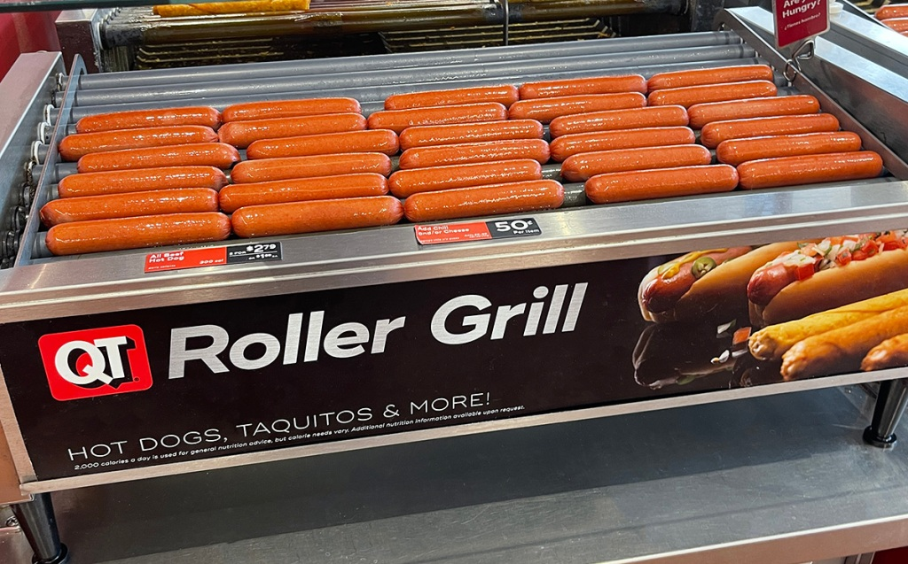 hot dogs at gas station