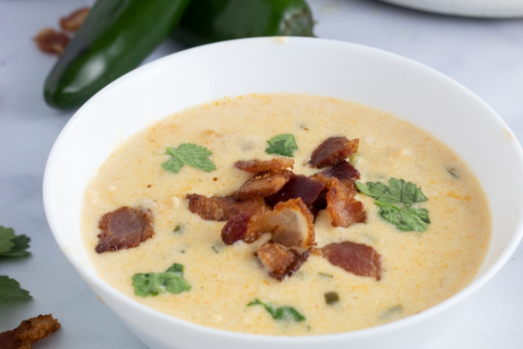 keto chicken jalapeno soup