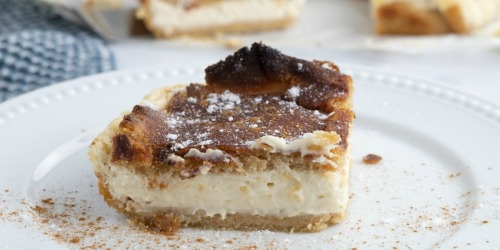 Keto Sopapilla Cheesecake Bars