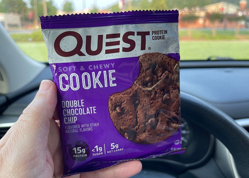 quest cookie at gas station