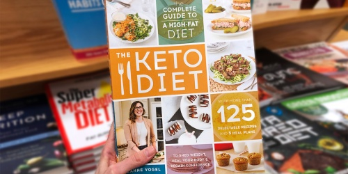 Save BIG on Keto Diet Books | Get $5 Off $20 Amazon Book Purchase