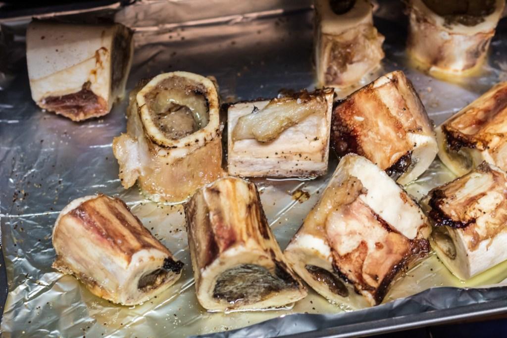 roasting meat bones