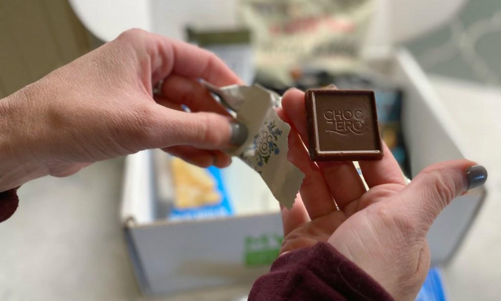 Choc Zero keto chocolate squares