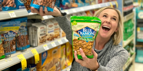 Large Bags of Blue Diamond Almonds Just $5.99 or Less at Walgreens (Regularly $10)