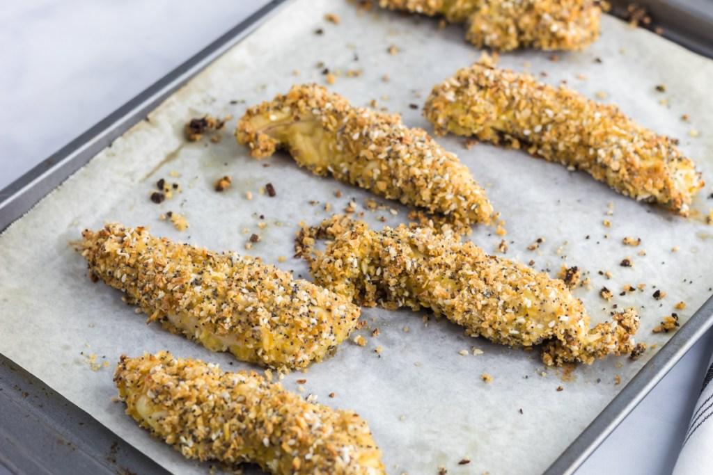 baking chicken on baking sheet